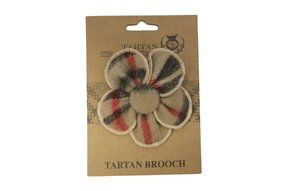 Brooch: Tartan Thomson
