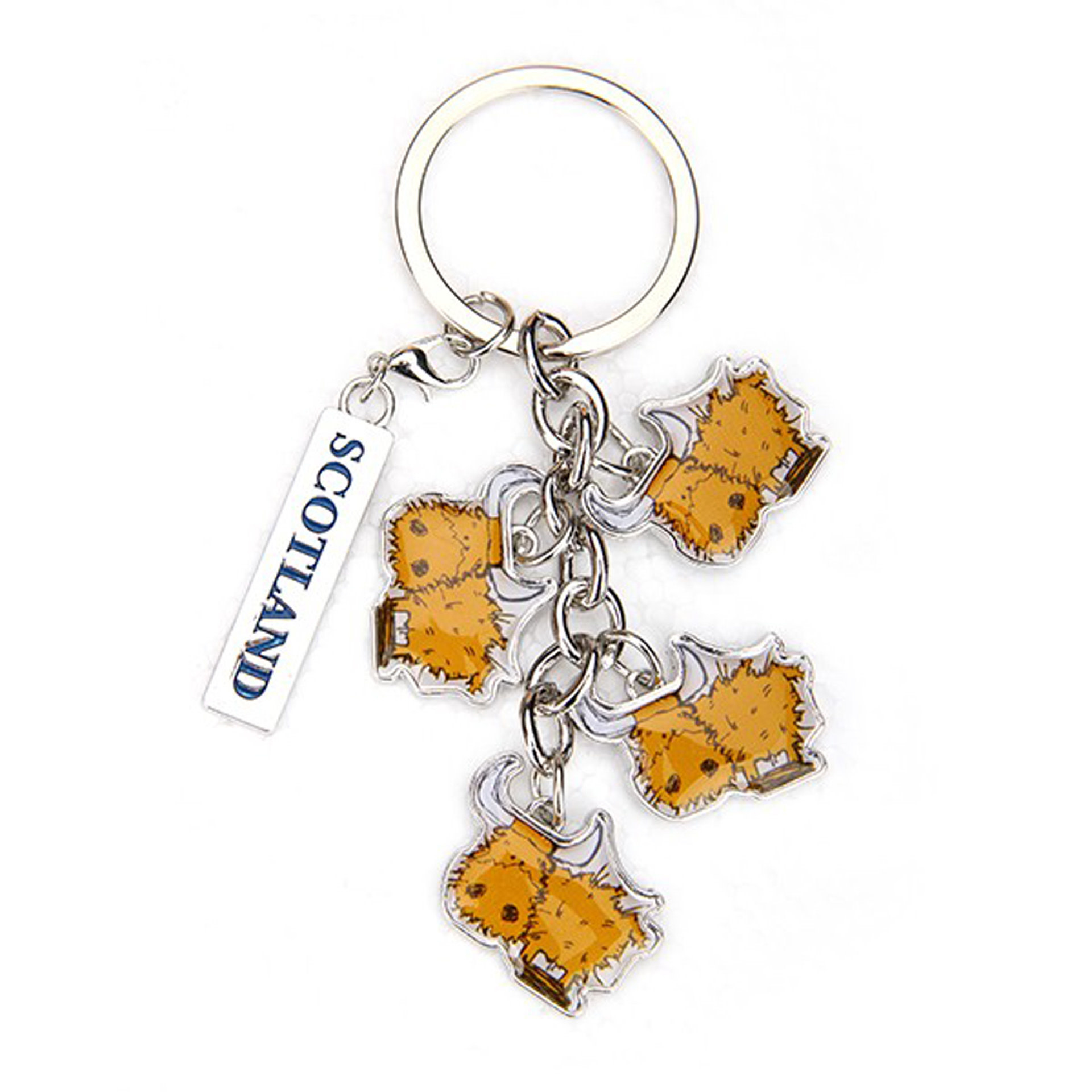 Keyring: Cow Toffee
