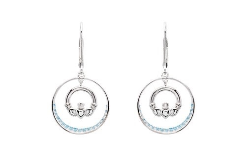 Shanore Earring: SS Circle Cladd