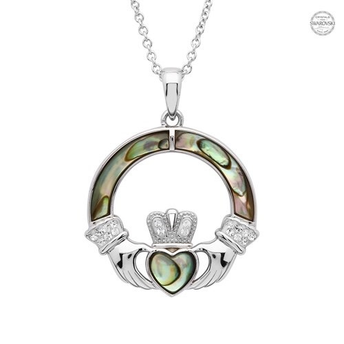 Shanore Pendant: Abalone Cladd