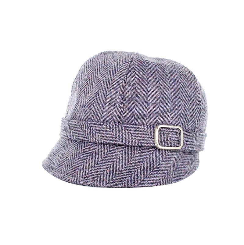 Hat: Flapper Herringbone
