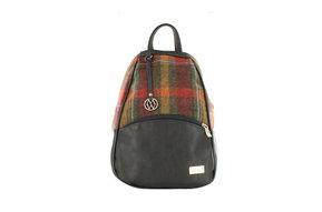 Bag: Backpack Colleen Tartan Muted