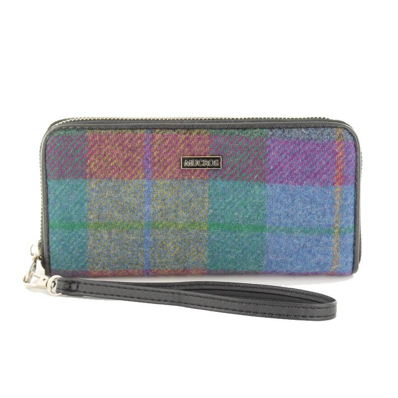 Wallet: Purple Tartan