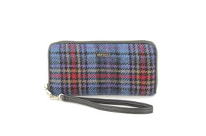 Wallet: Blue/Red Check