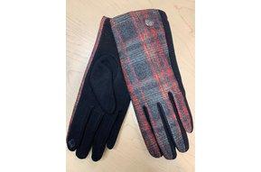 Gloves: Blk/Red/Grey