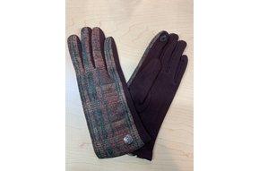 Gloves: Brwn/Red