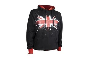 Hoodie: Union Jack Pullover