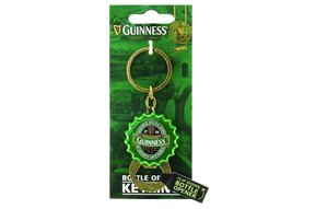 Guinness: Flip Keyring/Bottle Opener, Green