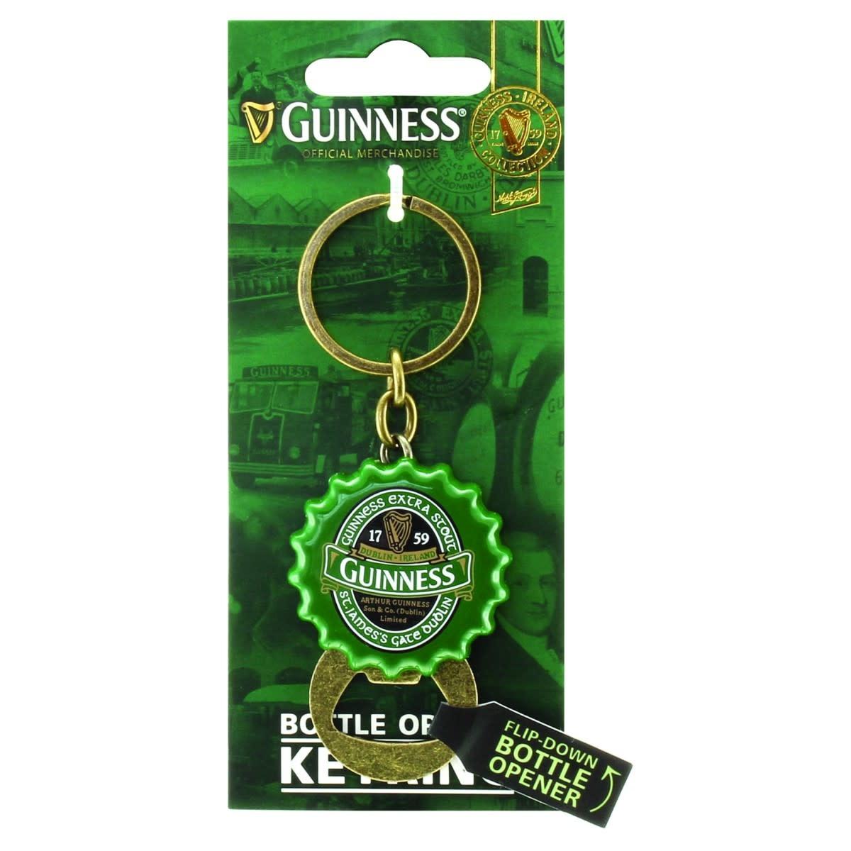 Guinness Guinness: Flip Keyring/Bottle Opener, Green