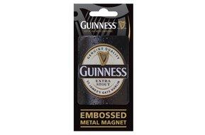 Guinness: Embossed Magnet, Logo