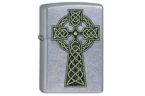 Lighter: Zippo Celtic Cross