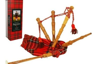 Bagpipes: Junior Playable, Royal Stewart
