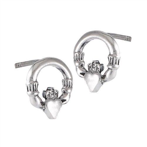 Welman Earring: SS Cladd Stud