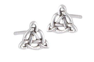 Earring: SS TinyTrin Circl