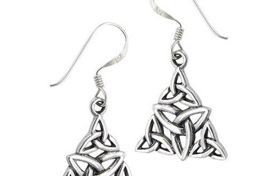 Earring: SS Trinity Triangle