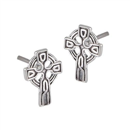 Welman Earrings: SS Tiny Celt Crs