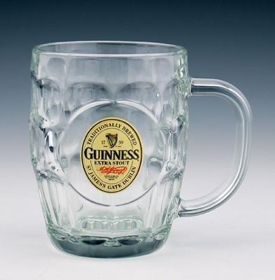 Glass: Guinness Hobnail Tankard