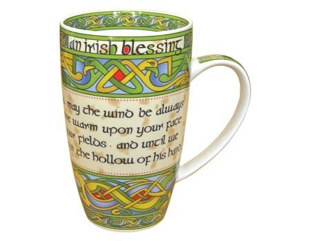 Clara Mug: Irish Weave Blessing