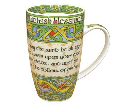 Clara Mug: Irish Weave Blessing