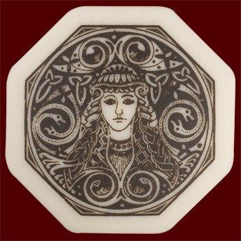 Necklace: Ceramic Brigantia