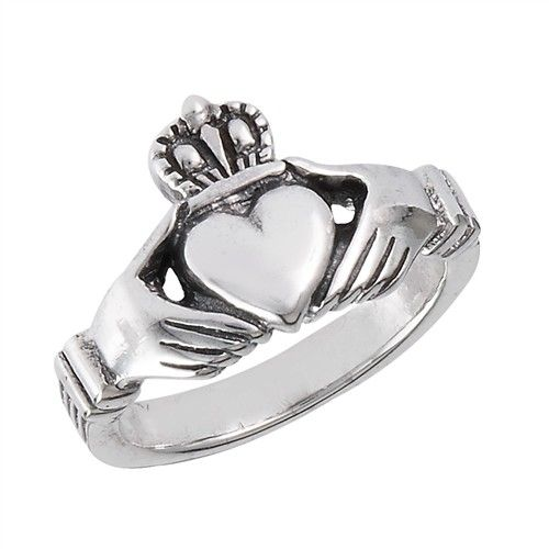 Ring: Claddagh, SS