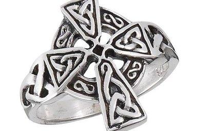 Ring: Celtic Cross, Trinity, SS