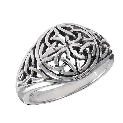 Ring: Trinities, Four Encircled, Domed, Trinity, SS