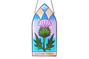 Stained Glass: Thistle