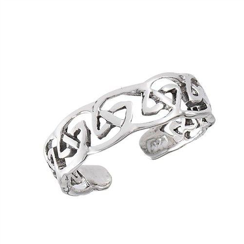 Toe Ring: Eternity Knot, SS