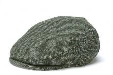 Hat: Vintage Wool Cap, Green