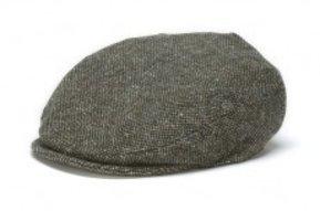 Hat: Vintage Wool Cap, Forest Green