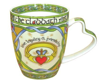 Clara Mug: Claddagh Ring