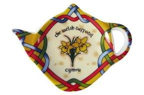 Tea Bag Holder: Welsh