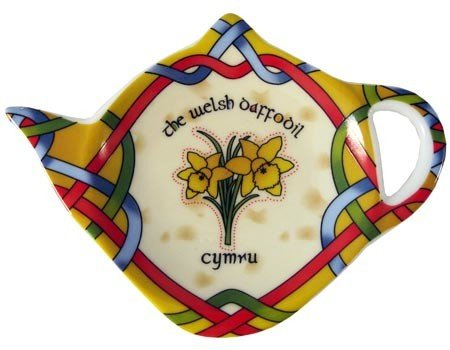 Clara Tea Bag Holder: Welsh