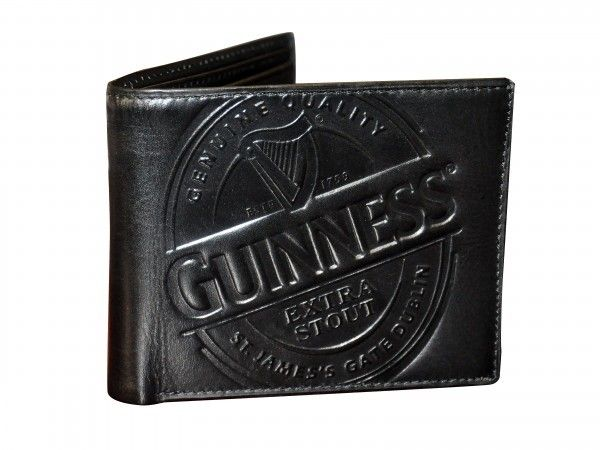 Guinness: Black Label Leather Wallet