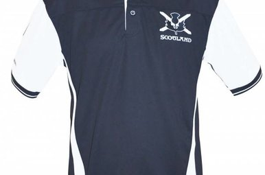 Shirt: Scotland Performance Polo