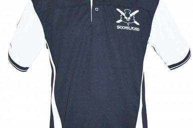 Shirt: Scotland Performance Polo