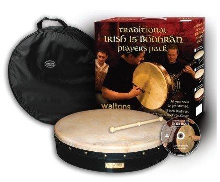 """Walton's Music Bodhran: 15"""" Players Pack"""