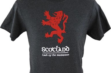 T Shirt: Scotland Barbarians
