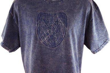 T Shirt: Royal Scotland Lion Embossed