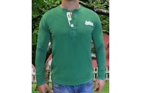 Shirt: Ireland Three Button Henley