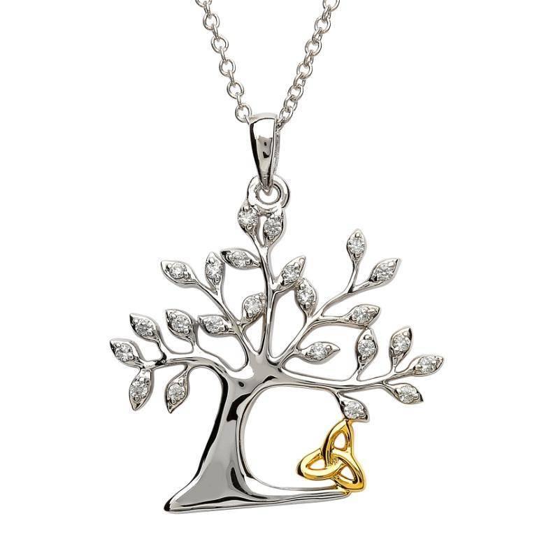 Shanore Pendant: SS Tree of Life Trinity