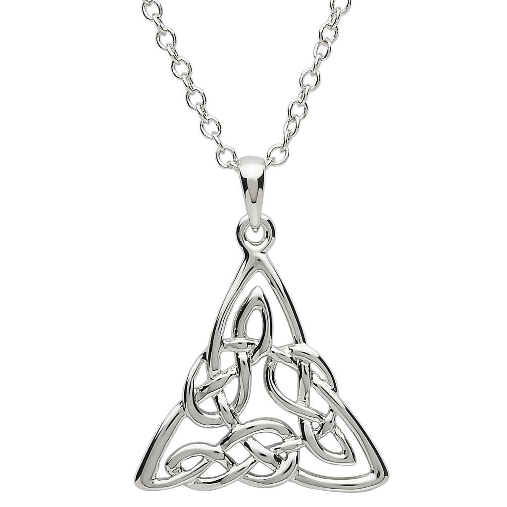 Shanore Pendant: Platinum Celtic Knot