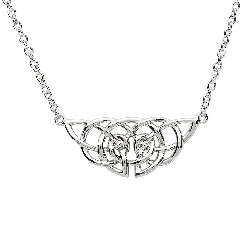 Pendant: Platinum Triquetra Knot