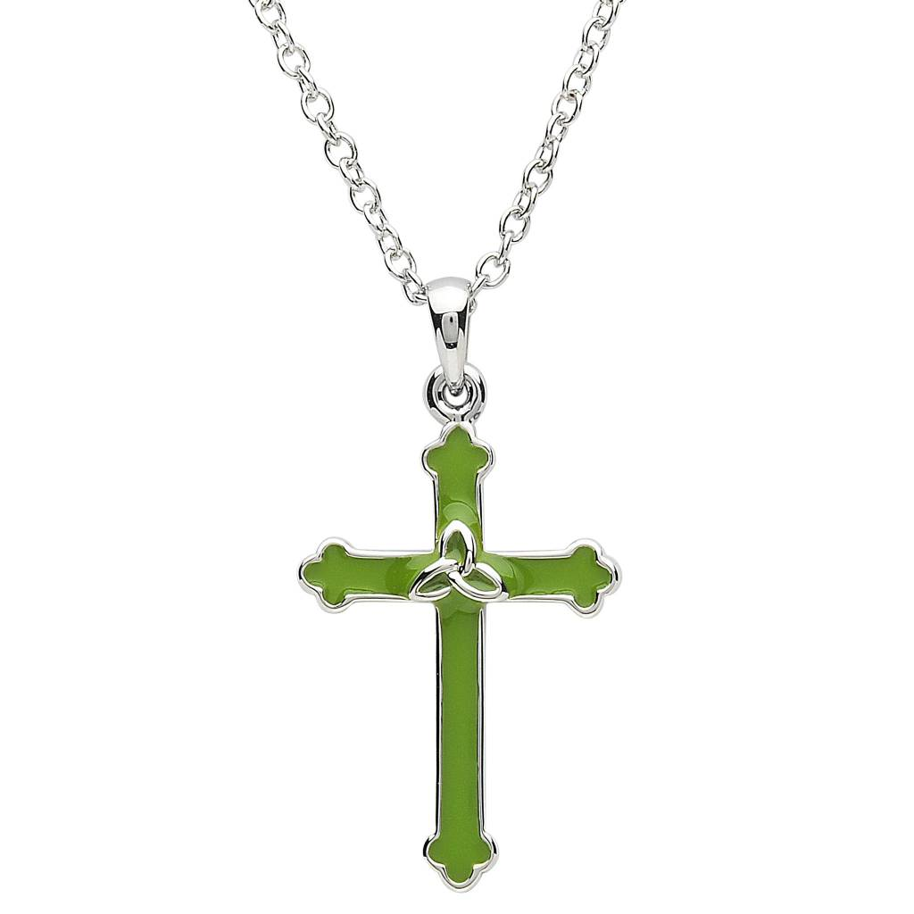 Pendant: Platinum Cross