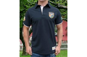 Shirt: Short Sleeve Polo Navy