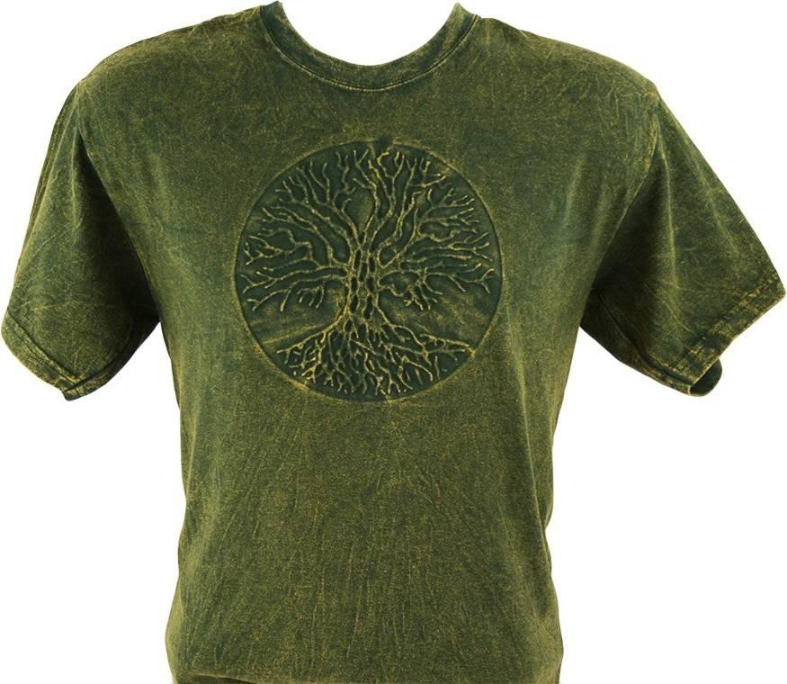 T Shirt: Tree of Life Embossed