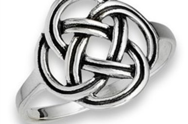 Ring: Celtic Frienship Knot, SS