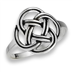 Ring: Celtic Frienship Knot, SS