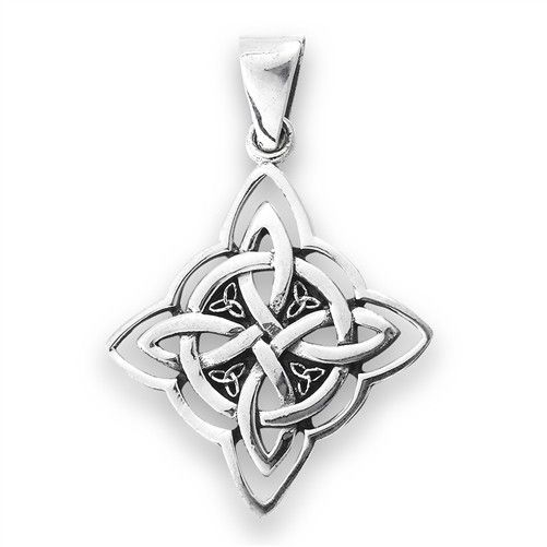 Necklace: SS Knot w/Triquetra